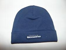 Seattle Seahawks Hat Cap 0-3 Months NFL Football Beanie Toboggan Baby KIDS NEW