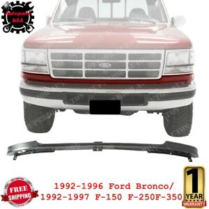 Front Bumper Filler Trim For 1992-1996 Bronco / 1992-1997 Ford F-150 F-250 F-350