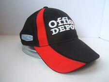 Office Depot 14 Tony Stewart Haas Nascar Racing Hat Black Hook Loop Baseball Cap