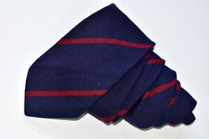 "Polo by Ralph Lauren  70% Wool 30% Cotton Men's Neck Tie W: 3 1/4""  by L: 57 """
