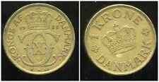 DANEMARK   1 krone  1939