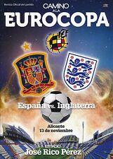 SPAIN v England (Friendly International in Alicante) 2015