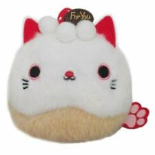 Pre-Sale Sanei Boeki Sweets Neko Dango Strawberry Shortcake Cat Plush Doll Japan