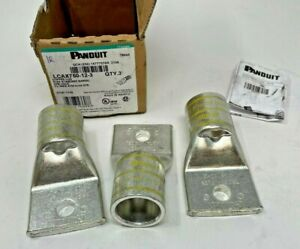 (Pack of 3)  Panduit - LCAX750-12-3 - Copper Compression Lug 1 Hole 777.7