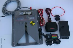 BL 7317 wheelchair van lock down system like EZ lock