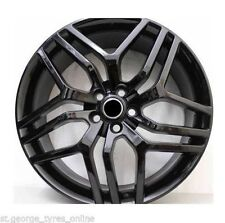 22 INCH APEC AUTOBIOGRAPHY BLACK WHEELS AND TYRES! RANGE ROVER VOGUE SPORT