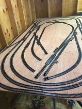 Ho Scale 4' By 8' Train Layout With 18 Switches
