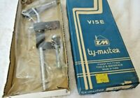 TM Ty-Master Fly-King Vise Fly Tying Fishing Fish Lure Clamp Vice NEW OLD STOCK