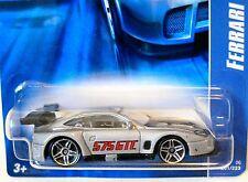 2006 Hot Wheels #201 ∞ FERRARI 575 GTC ∞ SILVER W/PR5 WHEELS