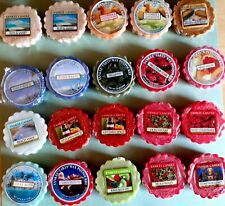 Lot of 20 Variety Yankee Candle Tarts Wax Melts Some Rare And Hard To Find New
