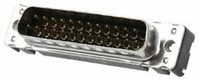 Harting 25 Way Through Hole PCB D-sub Connector Plug, 2.76mm Pitch, with M3 Thre