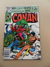 Conan The Barbarian 130 . Marvel 1982 . FN +