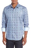 Robert Graham 'A Perfect Day' Classic Fit Print Sport Shirt, NWT, L XL