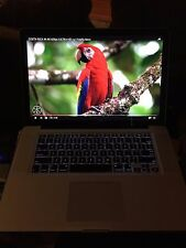 ●CUSTOM BLACK Apple MacBook PRO 15 ●SSD 500GB ●16GB●Intel Core i7 ~2.30 -3.30GHz