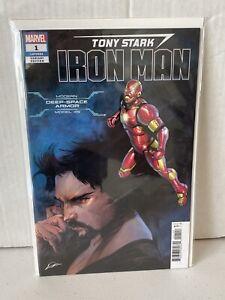 Marvel Comic Book Tony Stark Iron Man #1