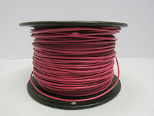 #14AWG SOLID COPPER #YM-680,590-E23919 600V T-90 NYLON RED INSULATED WIRE