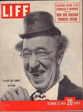 Life Magazine October 3 1950 Birthday, Ed Wynn VG 042216DBE