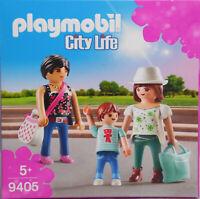 Playmobil City 9405 Shopping Girls Frau mit Handtasche - Mutter und Tochter NEU