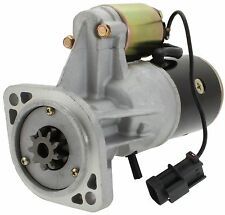New Starter Motor for Nissan Forklifts F03 F05 FG35N7 FG40N7 9 Tooth SYSN0060