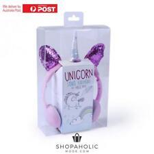 Unicorn Stereo Headphones/Earphones Apple/Android/Tablets/Phone Girls/Kids