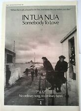 In Tua Nua Somebody To Love 1985 UK Poster size Press ADVERT 16x12 inches