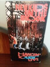 NEW KIDS ON THE BLOCK Hangin Tough Live VHS VIDEO 1989