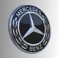 Orig. Mercedes-Benz AMG Stern Emblem Logo schwarz Motorhaube C-Klasse W205 S205