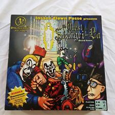 Quest for Shangri-La Board Game ICP Insane Clown Posse Complete