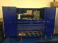 Snap On Tool Box KRL series With Side cabinets. Located In WV