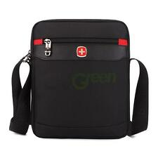 SwissGear Men Briefcase Classic Laptop Shoulder Backpack Messenger Bag Black