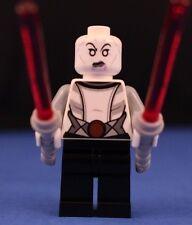 LEGO® STAR WARS™ 75087 minifigure ASAJJ VENTRESS SITH ASSASSIN + 2 curved sabers