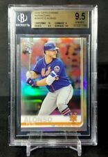 2019 TOPPS CHROME REFRACTOR PETE ALONSO RC #204 BGS 9.5