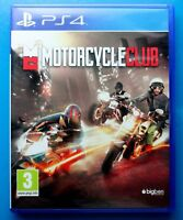 Motorcycle Club  Ps4 Mint condition 1st class free delivery