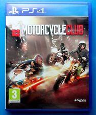 Motorcycle Club Ps4 Parfait état 1st classe livraison gratuite