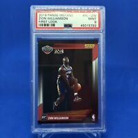 Zion Williamson Rookie Panini Instant First Look #1 Of 14091 Made PSA 9 2019
