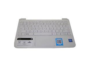 New Genuine HP Stream 11-Y012NR Palmrest TouchPad Keyboard 910460-001 910459-001