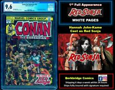 🔥 CONAN THE BARBARIAN #24 CGC 9.6 WHITE PAGES 🔥 $ 23 DISCOUNT with #15