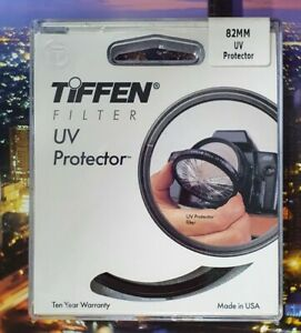 *NEW + UNOPENED* Tiffen 82mm UV Protector Filter