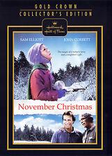 NOVEMBER CHRISTMAS (DVD, 2010) - HALLMARK HALL OF FAME - NEW DVD