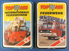 2x Quartett - Internationale Feuerwehren - ASS 3337/8 + 3336/9 - NEU in Folie