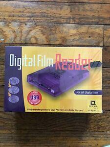 Lexar Media USB Digital Film Reader RW007-001 PC MAC Compatible