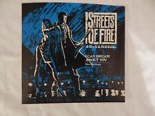 """DAN HARTMAN """"I Can Dream About You"""" PICTURE SLEEVE! BRAND NEW!"""