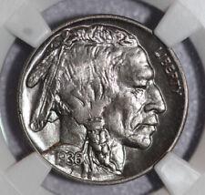 1936 Buffalo Nickel NGC MS65