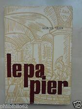 LE PAPIER / MARCEL VEBER 1969 / Papeterie Livre Bibliophilie