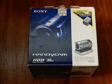 New in Open Box - Sony Handycam DCR-SR60 HDD Camcorder - SILVER - 027242698970