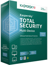 Kaspersky Total Security | 2017 | 3 users, 1 Year (Retail License Key Card)