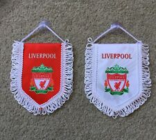 Liverpool FC Mini Flag / Pennant (12cm x 15cm) Great For Car / Home /Office Use