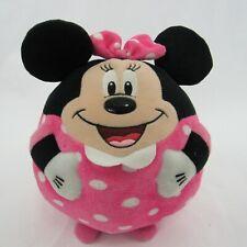 New listing Disney Minnie Mouse Ty Beanie Ballz Pink Dress Plush Stuffed Animal Toy Ball 8'