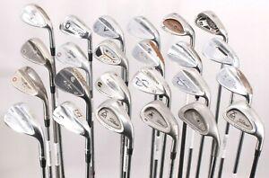Lot of 24 Golf Wedges Hogan Adams Ping Miura Titleist TaylorMade Cleveland RH