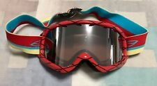 Smith Optics Grom Youth Ski 🎿 Snowboarding 🏂 Goggles 🥽 Red Yellow Blue Strap